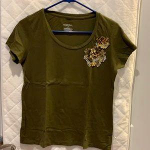 Merona Detailed T-shirt